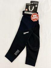 Gore Bike Wear Oxygen SO Arm Warmers Soft Shell Windstopper Size XL Black NWT