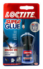 Loctite Super Glue With Easy Brush Water Resistant Instant Superglue Adhesive 5g