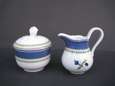 Wedgwood 'Tuscany Collection' Creamer and Sugar Bowl w/ Lid
