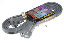 New Appliance Air Conditioner AC Extension Cable Power Cord Heavy Duty UL Listed
