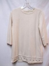 Denim D & CO. Active top shirt blouse Small 6/8 Bust 38-39 every day wear
