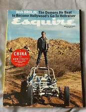 Esquire Magazine Josh Brolin's Demons September 2017