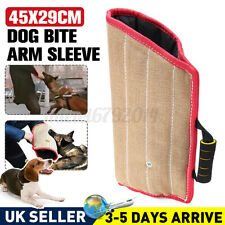 More details for 45cm jute dog bite arm sleeve for training chewing protections safety pillow uks