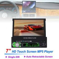 7 Inch 1 Din Bluetooth HD Touch Auto Retractable Screen Car Video Stereo Player