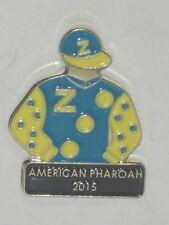 2015 - AMERICAN PHAROAH - Kentucky Derby Jockey Silks Pin