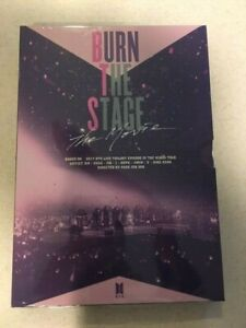 BTS    DVD Burn the Stage: The Movie