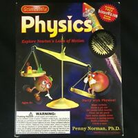 SCIENCE WIZ - PHYSICS - PENNY NORMAN Ph.D EDUCATIONAL TOY BOOK / KIT NEW
