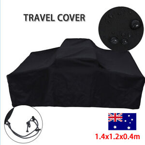 1.4m Travel Cover Roof Top Tent Camp er Trailer Waterproof 4X4 Rack Free AU