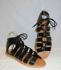 UO Urban Outfitters Honey Leather Gladiator Lace Up Sandals OB504029 Size 9