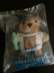 """Avon Gift Collection Pastime Pals I Love Fishing 6"""" Teddy Bear"""