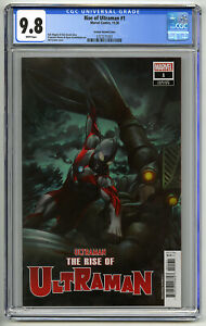 RISE OF ULTRAMAN #1 CGC 9.8 WHITE Pgs 1/100 RETAILERS INCENTIVE GRANOV COVER