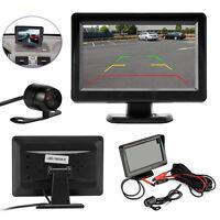 """4.3"""" TFT LCD Car Rear View Monitor + Backup Reverse Parking Camera Night Vision"""