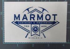 Marmot - clothing sticker, climbing, adventure, hiking, ski, snow
