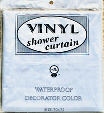 Better Home Decorator Deluxe Shower Curtain Liner 70x72 - CLEAR or GREEN