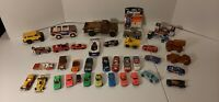 Vintage Lot Of 38 Tonka Montgomery Hot Wheels Nascar Cereal Tootsie Toy Cars
