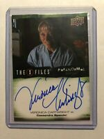 Veronica Cartwright Cassandra Spender 2019 UD X-Files UFOs and Aliens Auto #A-VC