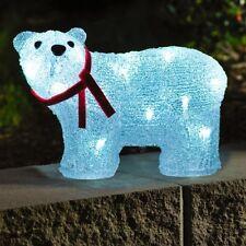 LED Acryl Eisbär stehend 40 Dioden 2,4W Konstsmide 6124-203