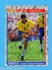 PANINI SUPERCALCIO 1994/95-Figurina n.202- BEBETO-BRASILE -STARS USA '94-NEW