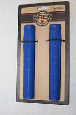NEW BREV M Track Grips Fixie Fixed Gear Road Grips Blue