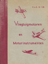 KONINKLIJKE LUCHTMACHT C.L.O / VLIEGTUIGMOTOREN EN MOTORINSTRUMENTEN / 1953