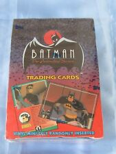VERY RARE 1993 TOPPS BATMAN THE ANIMATED SERIES - MINT FACTORY SEALED BOX