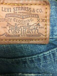 LEVI Red Tab Jeans Sz 9 (27 inch) Vintage BNWT - Big 70's Flare