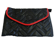 FOX RACING FEATURE BLACK CLUTCH HANDBAG