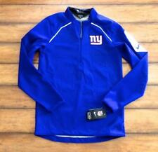 New York Giants ~ New! Nwt Men's Xs ~ Official On Field 1/4 Zip Thermal Pullover