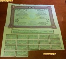 Commercial Bank Of Greece 10 Shares Athens 29 December 1969 Bordeaux