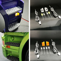 For Tamiya 1/14 Scania R470 R620 RC Car Pedal Turning Lamp Cup LED Light Kit
