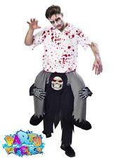 Ride on Grim Reaper Costume Funny Halloween Fancy Dress Standard Mens Amscan