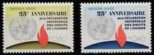 Nations Unies - Geneve postfris 1973 MNH 35-36 - Mensenrechten