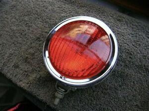 Oben Stop Light fog Red light fog light for Porsche VW vintage rally chrome #1X