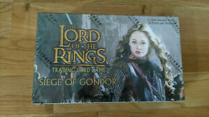 Siege of Gondor booster box (Lord of the rings TCG, CCG, Decipher)