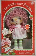 CHARLOTTE AUX FRAISES figurine poupée chiffon Mousse Framboise réédition vintage