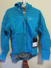 Mens New Arcteryx Proton FL Hoody Jacket Size Small Color Firoza
