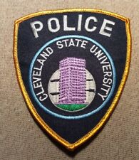 OH Cleveland State University Ohio Police Patch