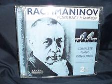 Rachmaninov-Plays Rachmaninov - 2cds