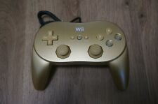 Club Nintendo Official Gold Classic Controller Pro Wii & Wii U  Limited Edition