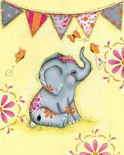 Circus Elephant III Lisa Keys Art Print 8x10