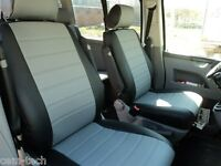 Volkswagen T5 Transporter Caravelle front 1+2 SEAT COVER PERFORATED LEATHERETTE
