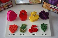 TORTA di frutta CROSTA / PASTICCERIA & Sugarcraft Estrattore stantuffo CUTTER - 4 IN PACK