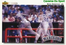 424 KEN GRIFFEY JR. SEATTLE MARINERS  BASEBALL CARD UPPER DECK 1992