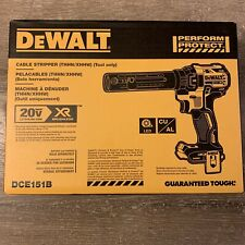 🔥 New Dewalt DCE151B 20V Max XR Cordless Brushless Cable Stripper (Bare Tool)🔥