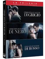 50 CINQUANTA SFUMATURE LA TRILOGIA COMPLETA (3 DVD) Jamie Dornan