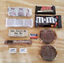 LOT of 11 Vintage MRE / ST-3 / C Ration Candy, Sugar and Gum.