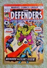 The Defenders #21 (Mar 1975, Marvel) 4.0 VG