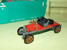 RIO 1:43 MADE IN ITALY AUTO DIE CAST 1906 1 TARGA FLORIO ITALA 45 CV ROSSO ART 1