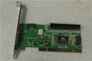1PC New 3 Port SATA + IDE Serial HDD ATA PCI Card VIA VT6421A