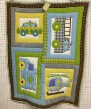 "New Finished Baby Quilt ~ Machine Quilted ~ Emergency Vehicles (32"" x 40"")"